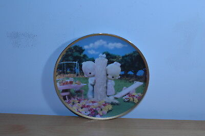 """Precious Moments Plate """"Thee I Love"""" 1995"""