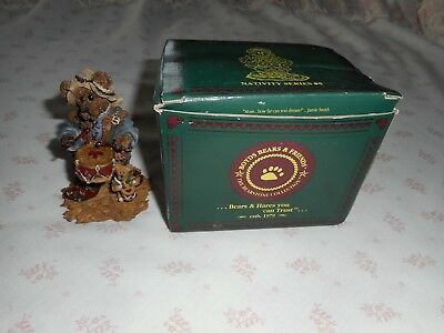 BOYDS BEARS Collectible THE DRUMMER with Box