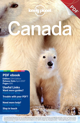 CANADA Lonely Planet Travel Guide 2017    PDF Read on PC/SmartPhone/Tablet