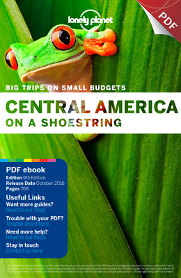 Lonely Planet Central America on a shoestring  PDF Read on PC/SmartPhone/Tablet