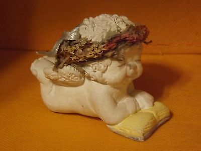 """Dreamsicles """"My First Reader"""" collectable figurine by Kristin 1995"""