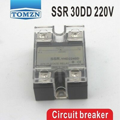30DD SSRYHD2230D Control voltage 3~32VDC output 5~220VDC solid state relay