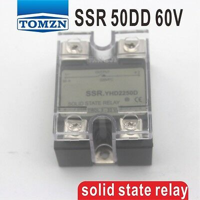 50DD SSR Control voltage 3~32VDC output 5~60VDC solid state relay