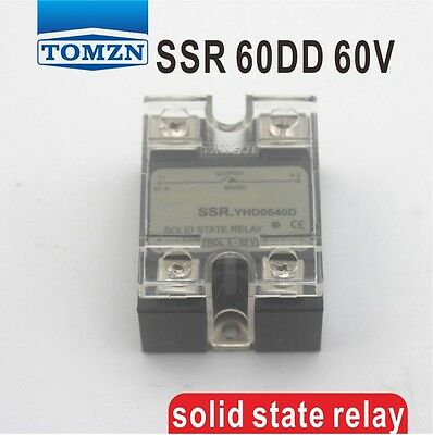 60DD SSR Control voltage 3~32VDC output 5~60VDC  solid state relay