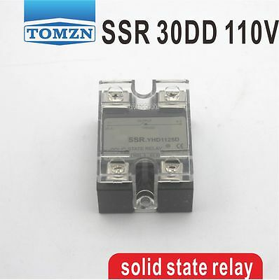30DD SSR Control voltage 3~32VDC output 5~110VDC solid state relay