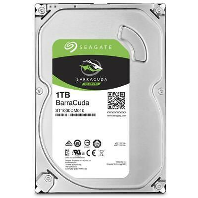 "Seagate BarraCuda 1TB 3.5"" Desktop Hard Drive (ST1000DM010)"