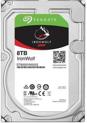 "Seagate IronWolf 8TB 3.5"" NAS Hard Drive (ST8000VN0022)"
