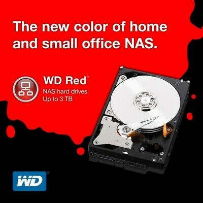 "Western Digital 1TB 3.5"" RED NAS HDD - WD10EFRX"