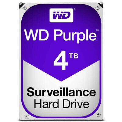 "Western Digital 4TB Purple 3.5"" Surveillance Hard Drive WD40PURZ"