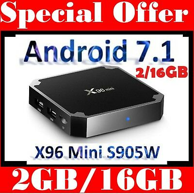 2018 Android Box 2GB/16GB Smart Tv 4k Core 1 Wifi Quad Player Media 0 6 7 Hd