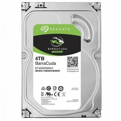 "Seagate 4TB BarraCuda SATA3 3.5"" HDD (ST4000DM004)"