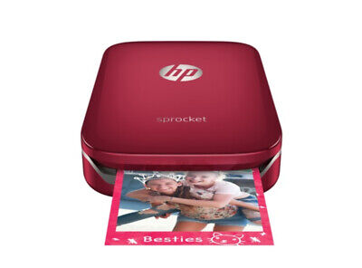 HP Sprocket Portable Mini Mobile Bluetooth Wireless Printer 4 iPhone & Samsung R