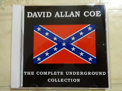 DAVID ALLAN COE XX The Complete Underground Collection X Rated CD allen NEW
