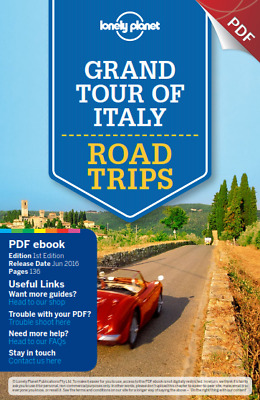Lonely Planet Grand Tour of Italy Road Trips PDF Read on PC/SmartPhone/Tablet