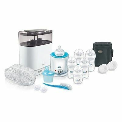 Avent Natural Bottle Starter Set Electric Sterilizer, Food Warmer and More