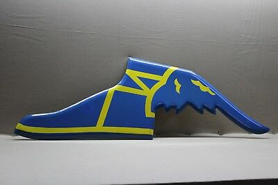 Goodyear Tires Embossed Porcelain Foot Sign Yblue Gas Oil Car Farm  Ford Motor