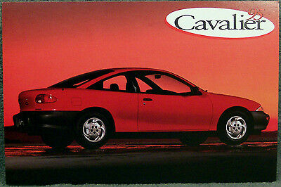 Postcard ~ 1995 Cavalier Coupe ~ Original