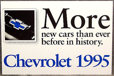 Postcard ~ 1995 Chevrolet ~ Original