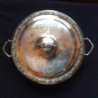 Sterling Silver Serving Dish Dated 1899