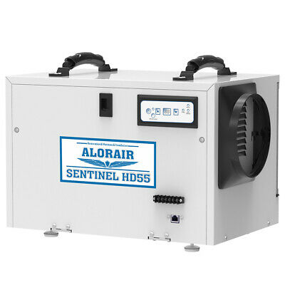 AlorAir Basement Crawlspace Dehumidifiers Removal 120PPD Saturation 55 PPD(AHAM)