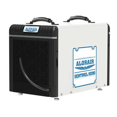 Toolots Dehumidifiers Basement or Crawlspace 90 Pint 2.88 L/ kW.halorair_Sentine