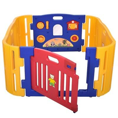 Baby Gear Hard-Working Cannons Uk Plastic Baby Playpen Play Pen Baby Den D Playpens & Play Yards