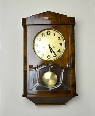 JUNGHANS Original German Wall Clock c 1930-40