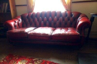 Antique Victoria Chesterfield  Three Seater Sofa **Absolutely Bargain**