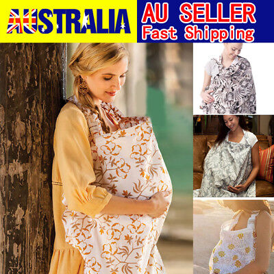 Baby Breastfeeding Nursing Cover 3 in 1 100% Cotton Generous Maternity Blanket