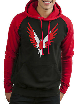 Red Maverick Inspired Logan Paul Merch Hoodie You Tube Blogger Logang Jumper