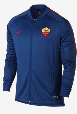 Nike AS Roma 2017/ 2018 Men's Dry Squad Football Tracksuit Top New M 855179 455