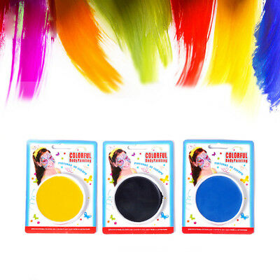Make Up Face Paint Color Palette Fun Halloween Cosmetics Fancy Painting Kit SK