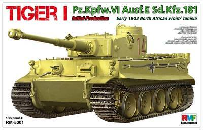 Rye Field Model 5001 Tiger I Initial Prod. 1943 North Africa Front/Tunisia  1/35