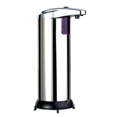 Stainless Steel Handsfree Automatic IR Sensor Touchless Soap Liquid Dispenser M@
