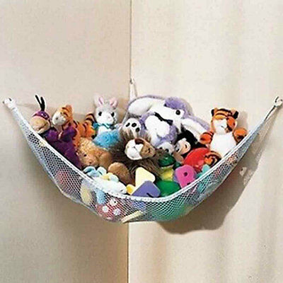 Toy Hammock Large JUMBO Deluxe Pet Organize Corner Stuffed Animals Toys AU@
