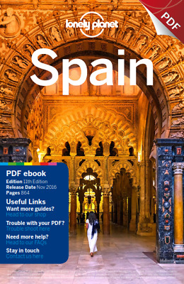 Lonely Planet Spain (Travel Guide), 2016  PDF Read on PC/SmartPhone/Tablet