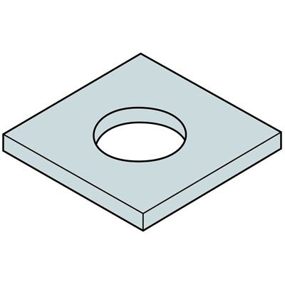 Any ID Any OD Up To 100mm 1.5mm Stainless Steel Custom Cut Washer