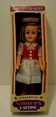 "1972 14"" Shirley Temple Doll in Original Box - Ideal Toy Corp."