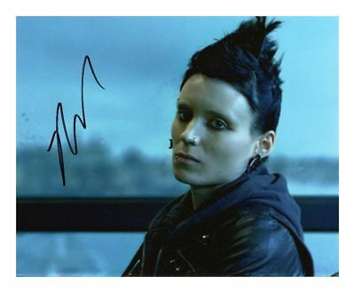 ROONEY MARA AUTOGRAPHED SIGNED A4 PP POSTER PHOTO PRINT 3