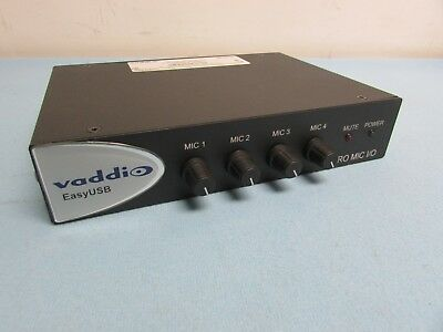 Vaddio Easy Hub Pro Mic I/O. Condition Good. Pre-Owned.