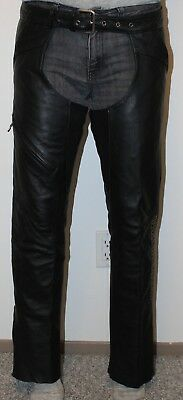 HARLEY DAVIDSON - Women's Leather Chaps - size XS