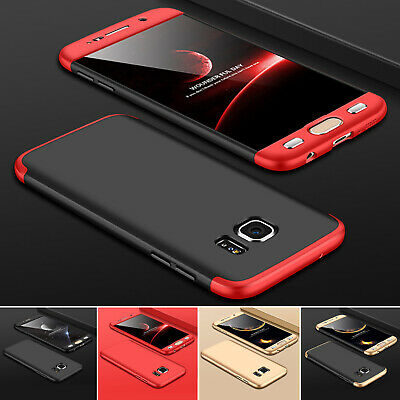 Hülle für Samsung Galaxy S7 / S7 Edge Full Cover 360° Grad Handy Schutz Case