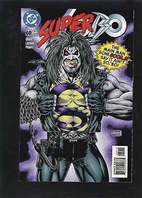 Lobo #60 The All-New, Nonviolent Adventures of Superbo! Superman Mockery Cover!