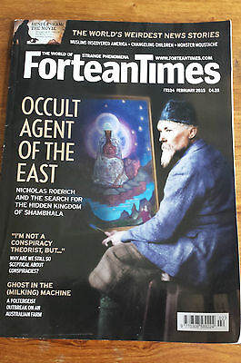 FORTEAN TIMES - FEBUARY 2015 Issue # 324 - Occult Agent Of The East
