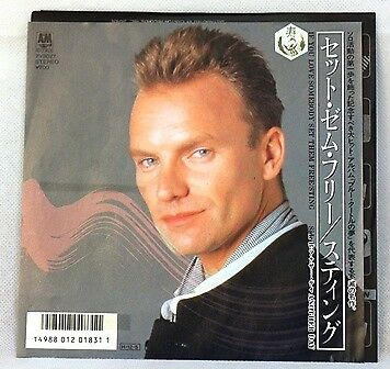 Sting If You Love Somebody Set Them Free&another Day(Single Schallplatte)