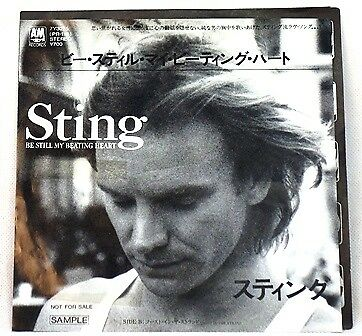 Sting Be Still My Beating Heart&ghost In The Strand(Single Schallplatte)