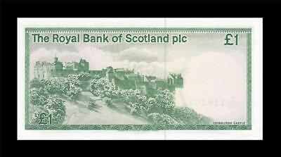 1.5.1986 Royal Bank Of Scotland Edinburgh 1 Pound (( Gem Unc ))