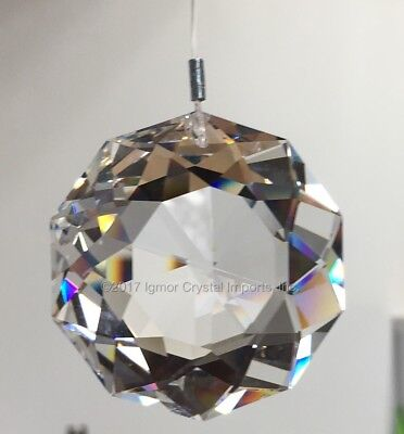 SWAROVSKI CRYSTAL 8950-0051*50MM* Clear DAHLIA Sun Catcher Prism STRASS