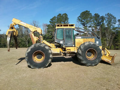 2003 John Deere 848G Rubber Tired Log Skidder SUPER NICE UNIT