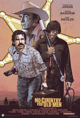 No Country For Old Men by Chris Weston screenprint RARE! nt Mondo